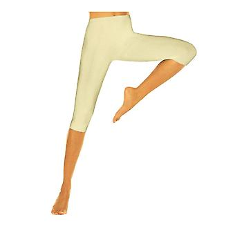 Solidea Silver Wave Corsaro Compression Leggings [Style 354A5] Champagne (Cream)  L