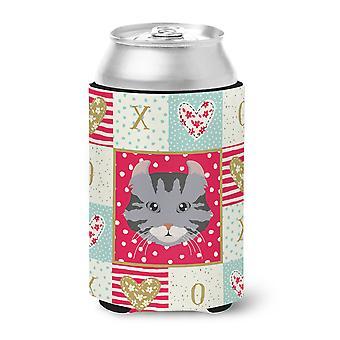 Carolines Treasures  CK5080CC American Curl Cat Love Can or Bottle Hugger