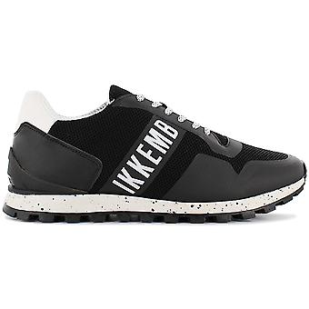 Bikkembergs Fend-er 2084 BKE109078 Men's Shoes Black Sneakers Sports Shoes