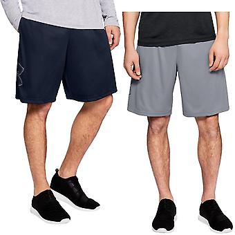 Under Armour Mens Tech Graphic Sports Activewear Fitness Fickor Shorts
