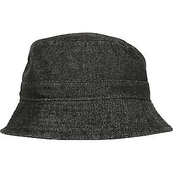 Flexfit by Yupoong Womens Washed Denim Bucket Hat