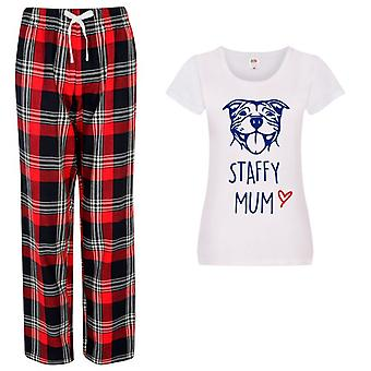 Ladies Life Is Better In Pyjamas Tartan Trouser Pyjamas