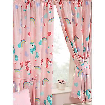 Jeg tror på enhjørninger foret gardiner