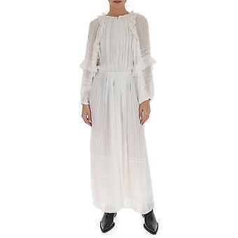 Isabel Marant ÉToile Ro157020p031e20wh Women's White Cotton Dress