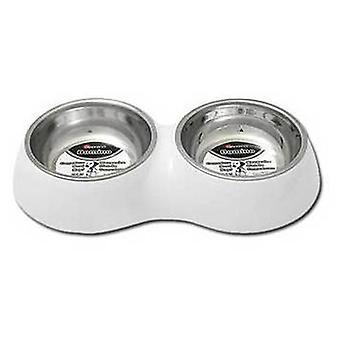 Nayeco doppia alimentazione in acciaio (bianco) Taglia 1