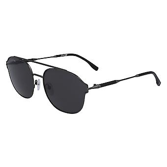 Lacoste L103SND 024 Matte Dark Ruthenium/Grey Sunglasses