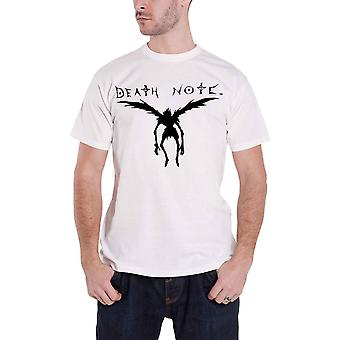 Death Note T Shirt Ryuk Shadow Logo anime manga new Official Mens White