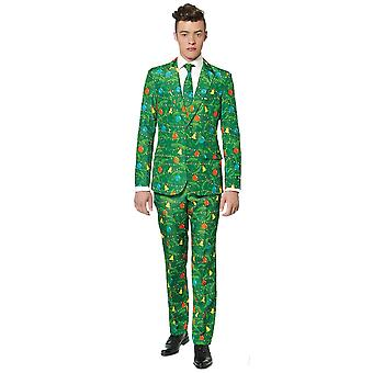 Adulte de costume d'arbre de Noel