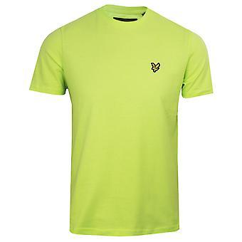 Lyle & scott men's sharp green t-shirt