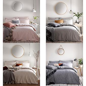 The Linen Yard Claybourne Duvet Cover Set