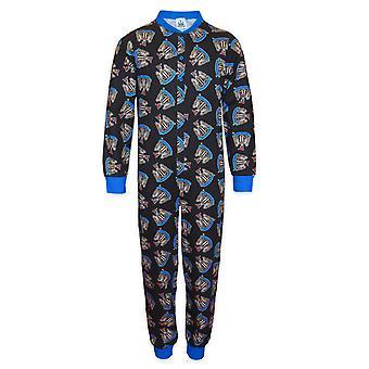 Newcastle United FC Officiel Football Gift Boys Kids Pyjama All-In-One