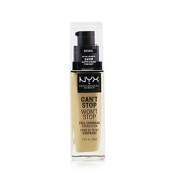 Nyx Can't Stop Won't Stop Full Coverage Foundation - # Natural - 30ml/1oz