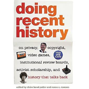 Doing Recent History - On Privacy - Copyright - Video Games - Institut