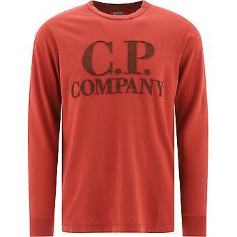 C.p. Société 08cmts326a005697v03 Men-apos;s Red Cotton Sweater