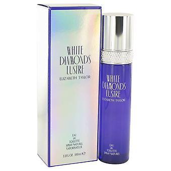 Diamantes brancos lustre eau de toilette spray por Elizabeth Taylor 514534 100 ml