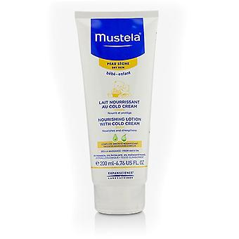 Mustela Nourishing Body Lotion With Cold Cream - For Dry Skin - 200ml/6.76oz