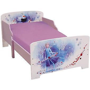 Bevroren 2 houten bed