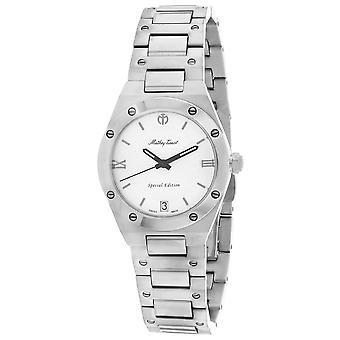 Mathey Tissot Women's Eliser Silver Dial Watch - D680SE