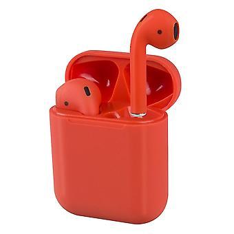 Auriculares Bluetooth i18 TWS - Rojo