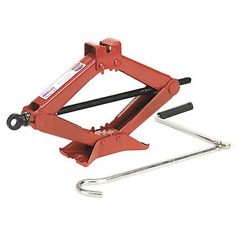 Sealey 58M Scissor Jack Heavy-Duty 1.5Tonne Tuv/Gs Approved
