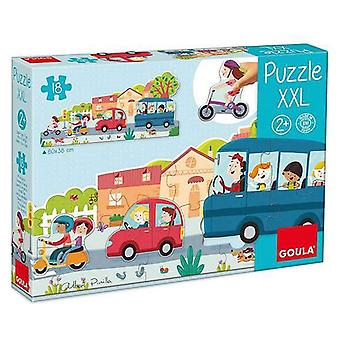 Puzzle Xxl Diset (18 pcs)
