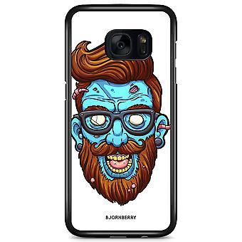 Bjornberry Shell Samsung Galaxy S7 Edge - Zombie Hipster