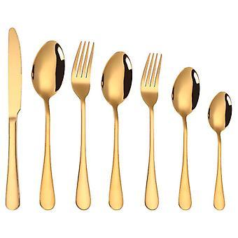 Flatware مجموعة أدوات المائدة مجموعة خدمة مجموعة dinnerware