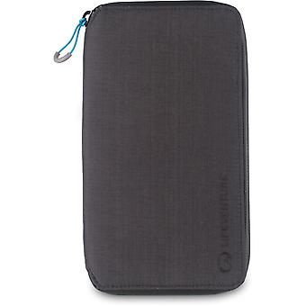 Lifeventure RFID Protected Document Wallet Grey