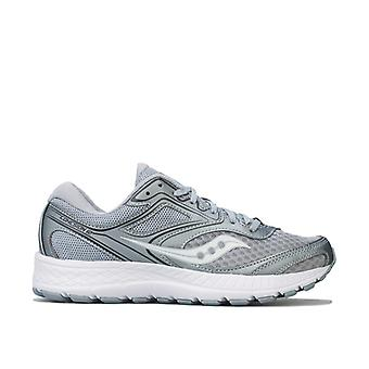 Women's Saucony Cohesion 12 Running Shoes in Grey