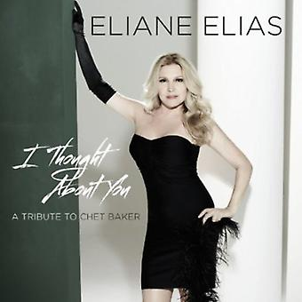 Eliane Elias - I Thought About You (Tribute to Chet Baker) [CD] USA import