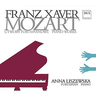 Mozart / Liszewska - Piano Works [CD] USA import