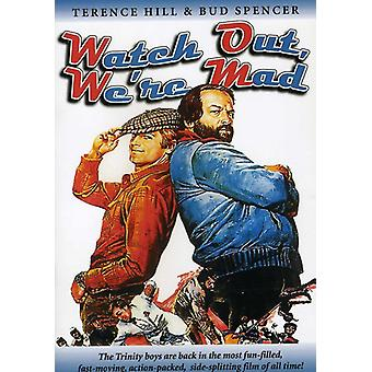 Watch Out Were Mad [DVD] USA import