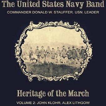 Klohr/Lithgow - Heritage of the March, Vol. 2 [CD] USA import