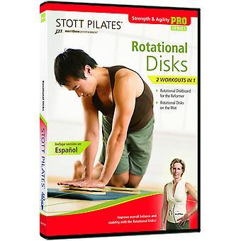 Stott Pilates: Rotational Disks [DVD] USA import