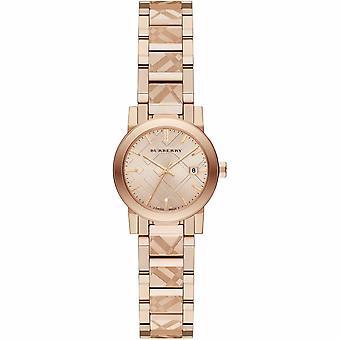 Burberry BU9235 Staden Rose Guld Tone 26mm Mål Ladies Watch