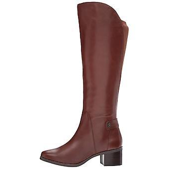 Anne Klein kvinners jelaw Cap Toe kneet High Fashion lærstøvler