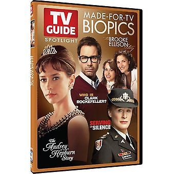 TV Guide Spotlight: Made-for-TV Biopics [DVD] USA import