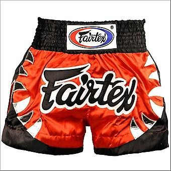 Fairtex yodsanklai bite muay thai shorts - red