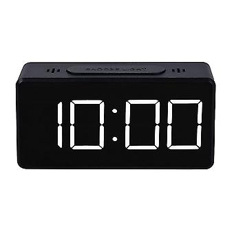 Digital Alarm Clock - Black