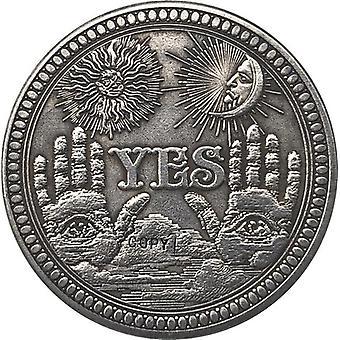 موبو النيكل الولايات المتحدة الأمريكية مورغان الدولار عملة طبق الأصل نمط 137