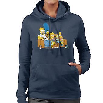 The Simpsons film tid kvinnors Hooded Sweatshirt