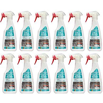 Sparset: 12 x HOTREGA® grill and oven radical cleaner, 500 ml flat spray bottle