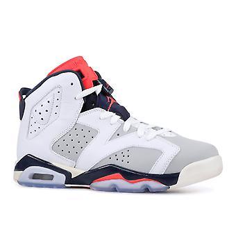Air Jordan 6 Retro (GS) 'Tinker Hatfield'-384665-104-chaussures