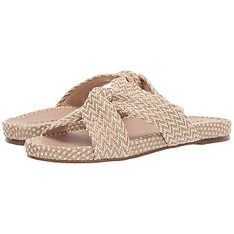 Lucky Brand Women's Fynna Synthetic Open Toe Flat Slide Sandal