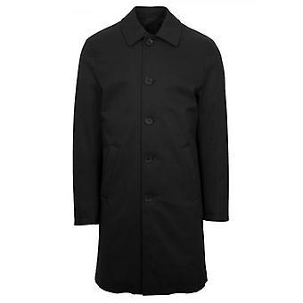 CC Collection Corneliani Black Over Coat