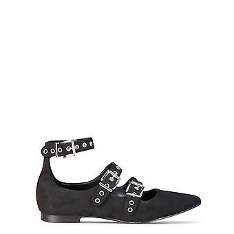Fabricado em italia anastasia mulheres's sapatos planos de camurça sintética