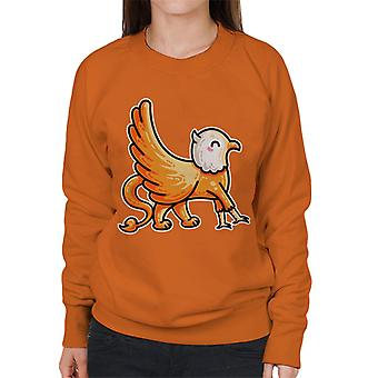 Griffin Cute Mythological Kawaii Women's Sweatshirt