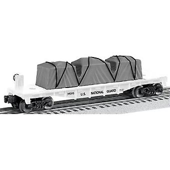 LIO39395, US MADE NATIONAL GUARD FLATCAR 70 DOLLARI