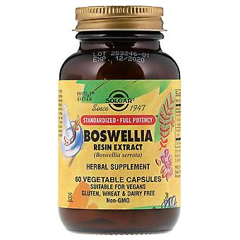 Solgar, Boswellia Resin Extract, 60 Vegetable Capsules