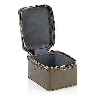 Olive Green Richmond Leather Small Trinket Box
